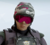 Dokkaebi Flush Snowfall Headgear
