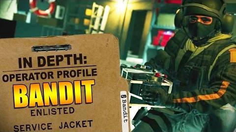 Rainbow Six Siege - Operator Profile BANDIT-0