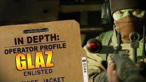 Rainbow Six Siege - Operator Profile GLAZ-0