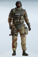 Twitch Saharan Courage Uniform