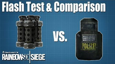 Flash Test & Comparison - Rainbow Six - Siege