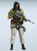 Hibana Amber Bloom Uniform