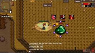 Boss Battle (Short Boomerang) - Raining Chain MMORPG