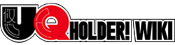 UQ Holder Wiki Wordmark