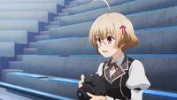 Kagami witnesses Ikki and Stella's match