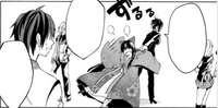 Saikyo being dragged out by Kurono