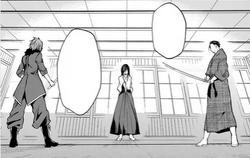 Kaito vs Kuraudo