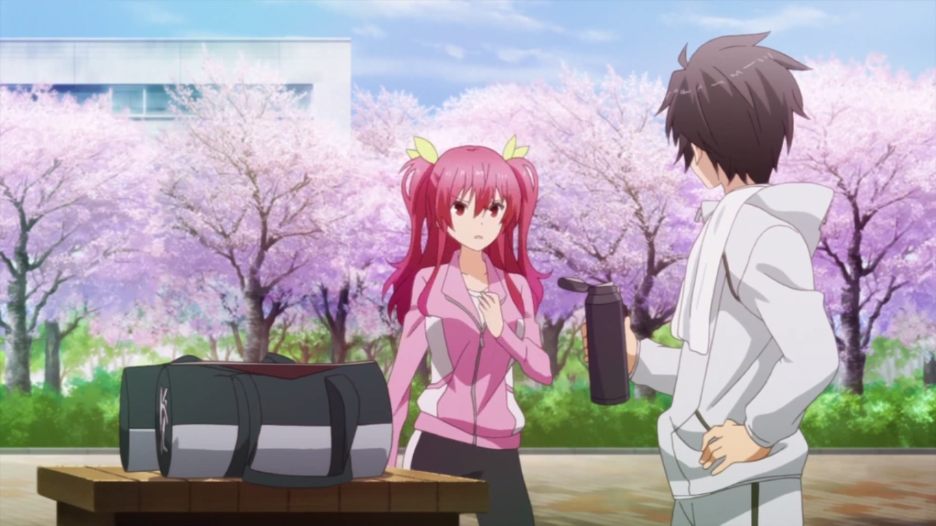 image stella and ikki after their jog png rakudai kishi no