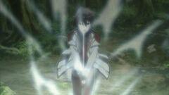 Ikki activates Ittou Shura