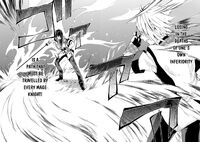 Ikki regains the strength to fight