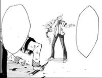 Kirihara enjoys torturing Ikki