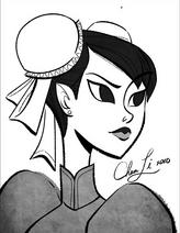 Chun li retrato