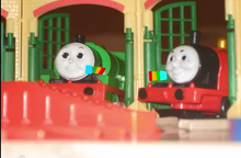 James and Percy