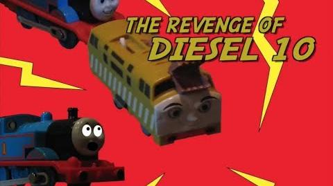 Thomas The Trackmaster Show (short 10) The Revenge of Diesel 10-0