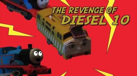 Thomas The Trackmaster Show (short 10) The Revenge of Diesel 10-0