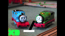 Percy has to pull the switch
