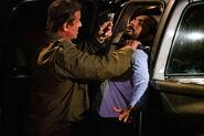 Rambo threatens Hugo