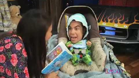 ICarly.com Victoria Justice meets Baby Spencer