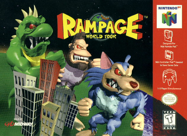 rampage game ps1