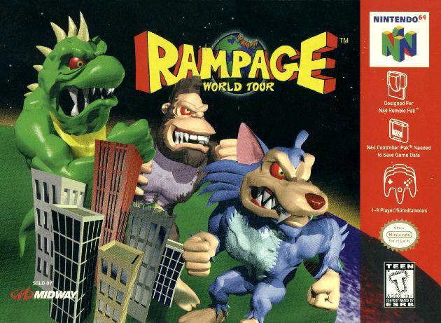 Rampage: World Tour | Rampage Wiki | FANDOM powered by Wikia