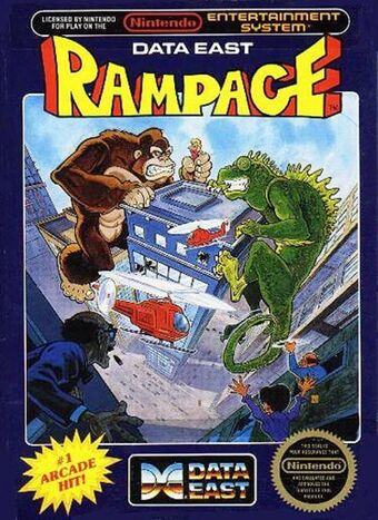 Rampage 1986 Rampage Wiki Fandom