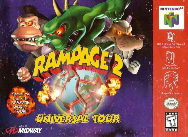 Rampage 2 Universal Tour Rampage Wiki Fandom