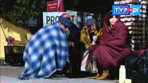 Ranczo - Na strajku się nie pije - scena z odc. 77