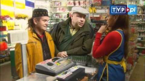 Nowa sprzedawczyni scena z odc. 76