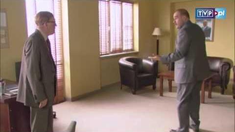 Ranczo - Wodzu, prowadź! - scena z 91 odc.