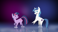Twilight sparkle and shining armor by acesential-d4y0qb2