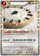 PIE POKEMON