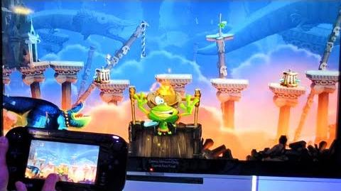 Rayman Legends - Comic-Con gameplay