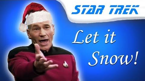 Picard Sings You a Christmas Song