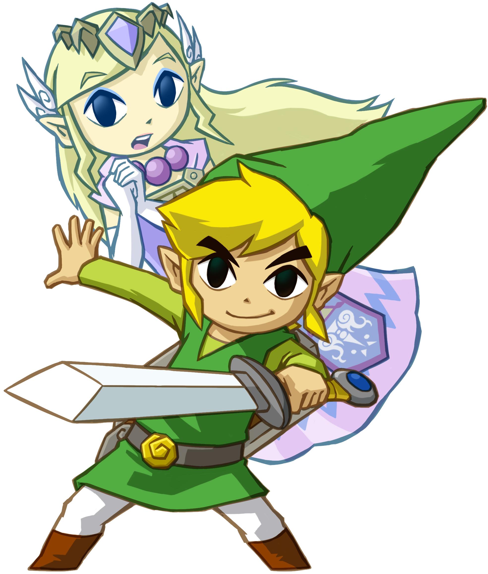 st link zeldapng - Link Et Zelda
