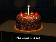 The-cake-is-a-lie