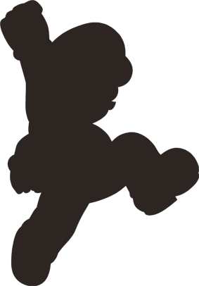 image 3d mario wii u silhouette png random ness wiki fandom