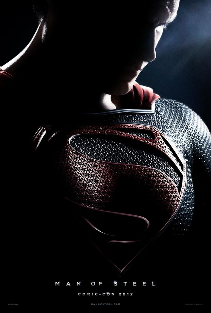 Man of Steel Comic-Con poster