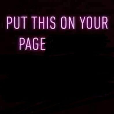 Put this on your page