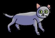 Zombie the cat
