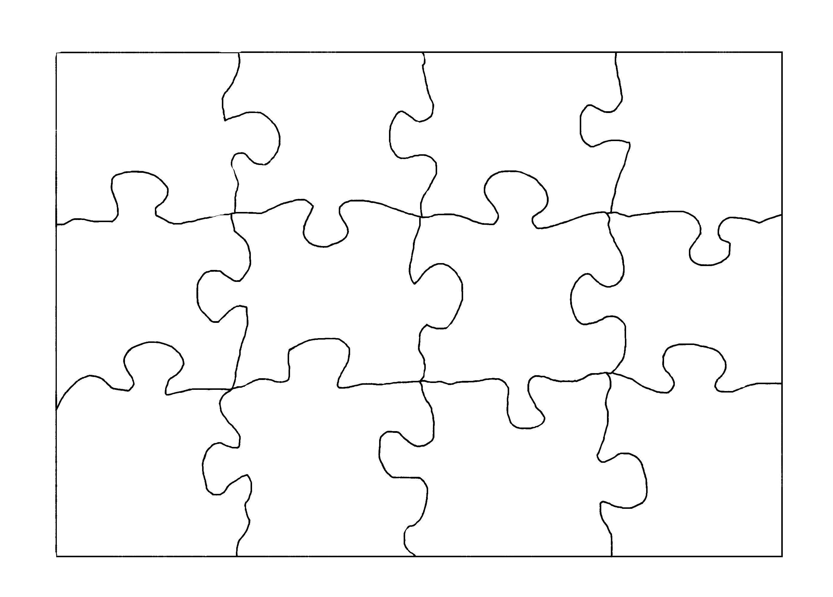 puzzle outline dokya kapook co