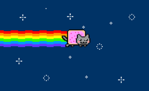 Full screen nyan