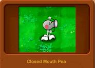 Closed Mouth Pea