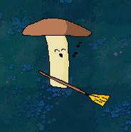 Broom-shroom