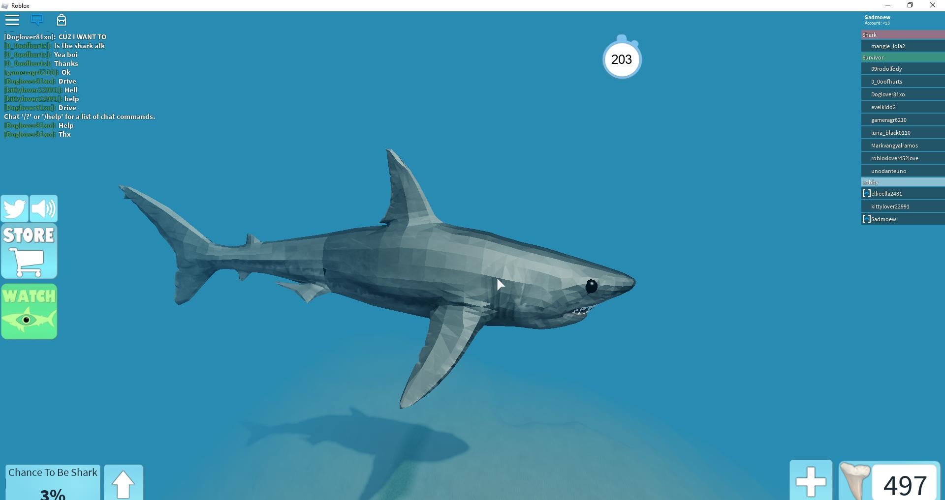 Shark Bite roblox | Random Roblox Games And more Wiki