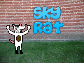 Sky Rat Pilot Title Card