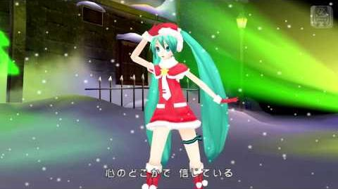 【Project DIVA Extend】Golden Holy Night Blending Into The Frost And Snow (JPCSP Fraps 720p HD)