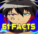 61 facts about Nanbaka
