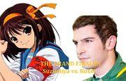 Haruhi Suzumiya vs Alexander Rossi