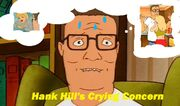 Hank Hill's Crying Concern