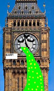 Big Ben Barfing